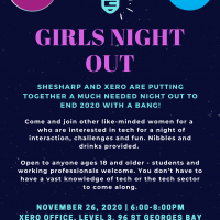 Girls Night Out Poster